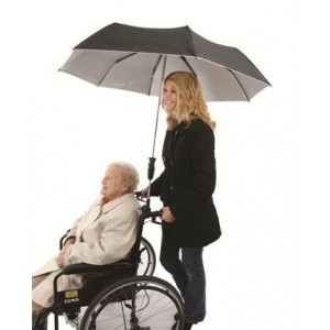 Hands Free Brolly | Aids for Daily Living | CURRENT SPECIALS | Wheelchair Accessories
