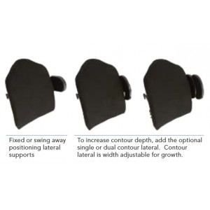 Nxt Kids Contour Back   nxt Back Supports   Paediatric Back Supports   Adjustable Back Supports